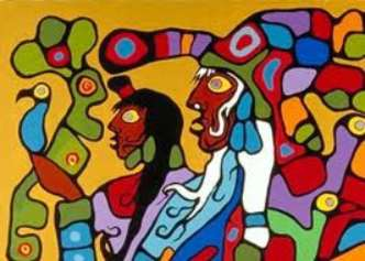 Morrisseau_Untitled Shamans